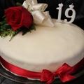 Joghurtos-málnás torta