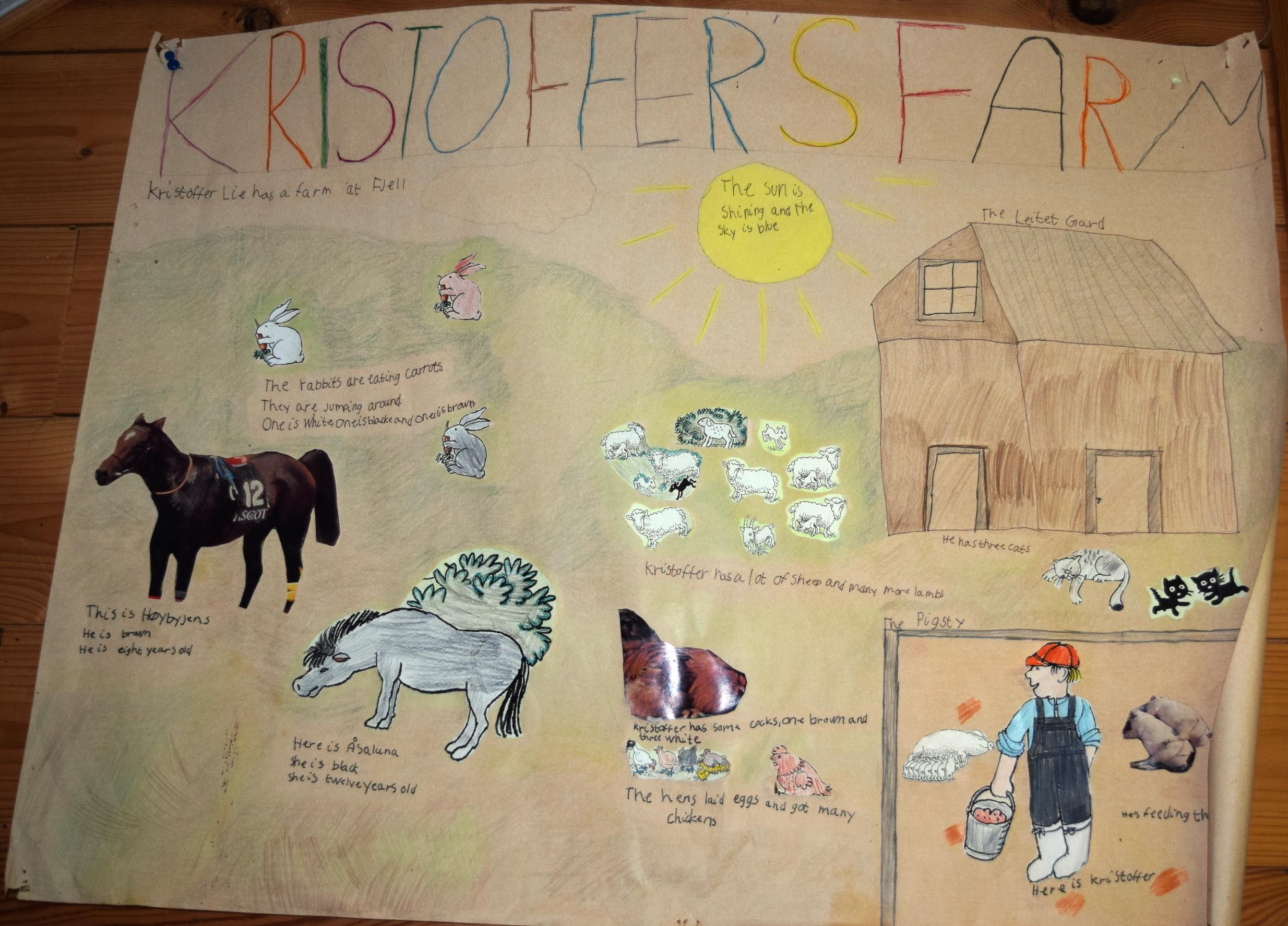 Kristofer farmja a gyerekek szemével.