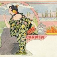 Tíz kép - Art Nouveau képeslapok
