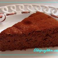 Elképesztően csokoládés torta