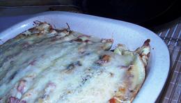 Gruyére sajtos palacsinta