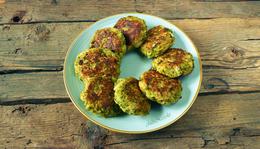 Fetás brokkoli fasírt