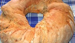 Diós, rozsos, kovászos kenyér