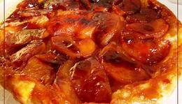 Tarte tatin - karamellizált almatorta