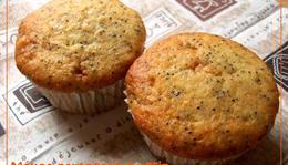 Mákos-narancsos muffin
