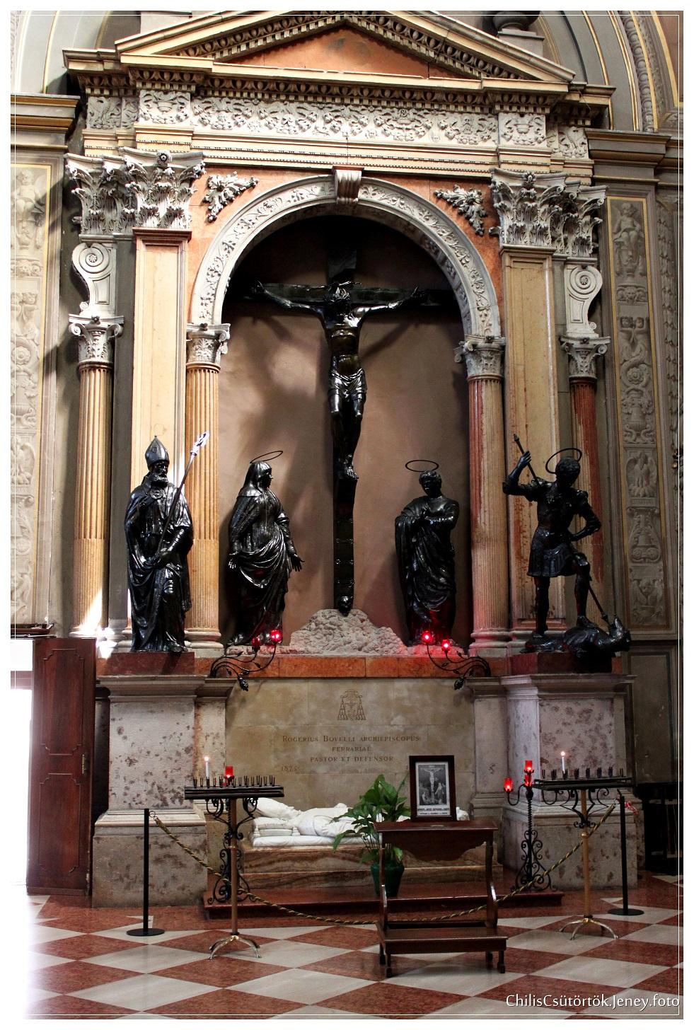 Rogerius Bovelli Archiepiscopus Ferrariae Pastor et Defensor