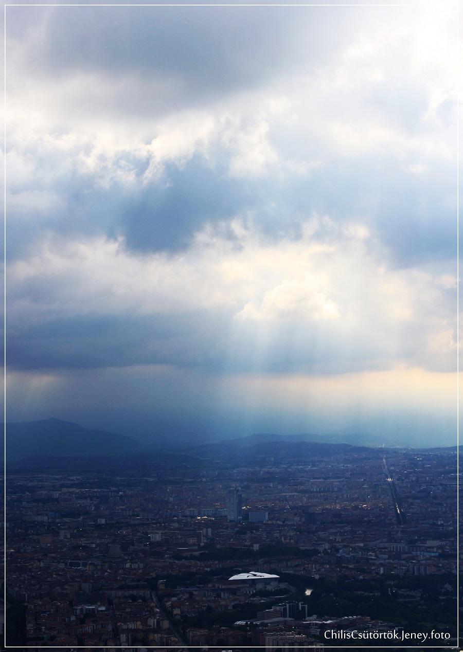 Torino felett az égbolt nem felhőtlen