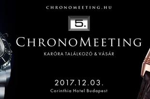 V. ChronoMeeting Óravásár!