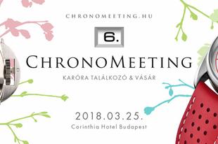 VI. ChronoMeeting Óravásár!