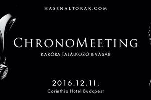 ChronoMeeting órakiállítás és vásár!