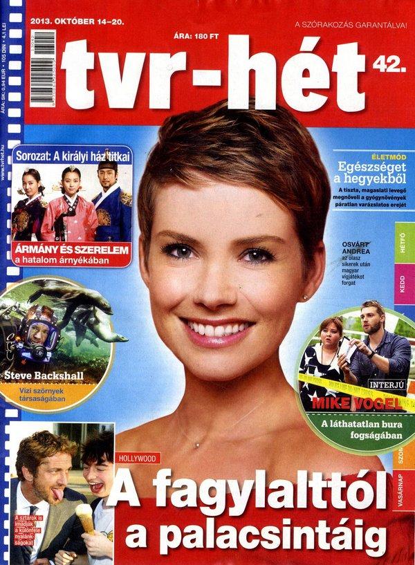 Osvárt Andrea (2013.10.14. tvr-hét)
