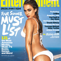 Jessica Alba (2014.05.30. Entertainment Weekly)