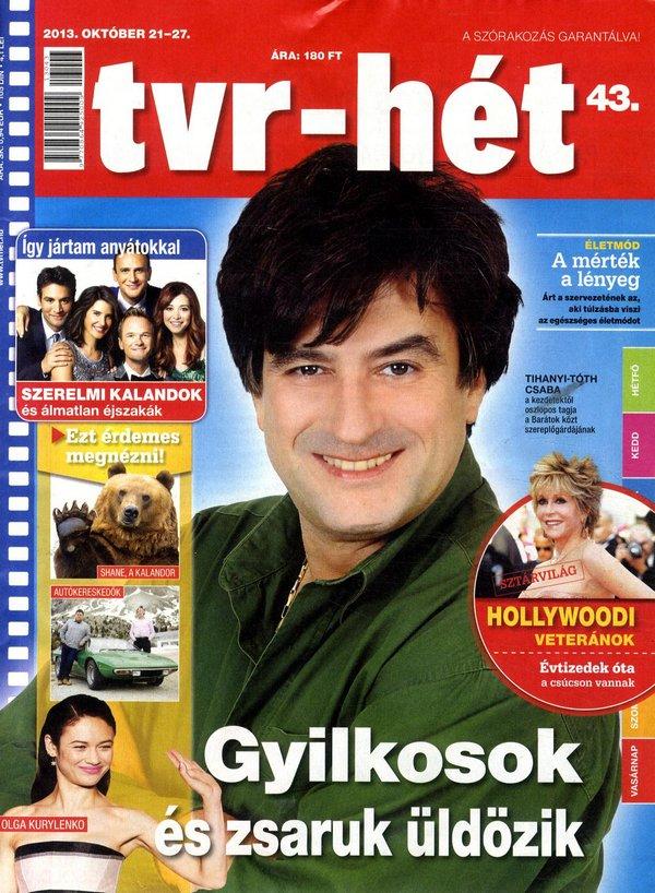 Tihanyi-Tóth Csaba (2013.10.21. tvr-hét)