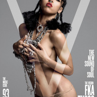 FKA twigs (2015. Spring preview, V Magazine)