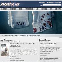 Stephen King-nek van a világon a legkirályabb weboldala!