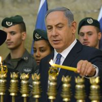 Netanjahu a világ vezetőiről: Az ENSZ-ben történelmet hamisítanak, utána Hanuka-üdvözletet küldenek