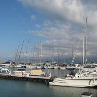 Latchi strand tengerparti bungalói és villái - ciprusi élménybeszámoló