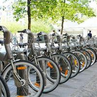 Párizs kerékpározik