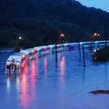Egy egész vonatot körbevett a torontói árvíz