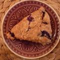 Áfonyás scone teljes kiőrlésű lisztből - az alakbarát reggeli