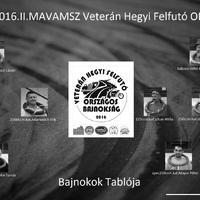 2016. II. MAVAMSZ Veterán Hegyi Felfutó OB.