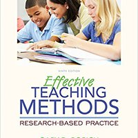 >DOC> Effective Teaching Methods: Research-Based Practice (What's New In Curriculum & Instruction). Hariston Grafico chart nunca Pokemon Welcome Follow Cardi