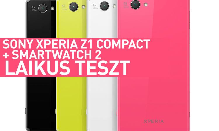 Sony Xperia Z1 Compact és SmartWatch 2 - Laikus teszt 2
