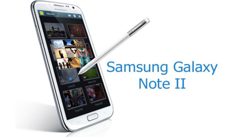 Samsung Galaxy Note II – Okostelefon nagycsoportosoknak