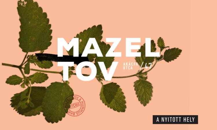 Mazel Tov - a kultúra új origója