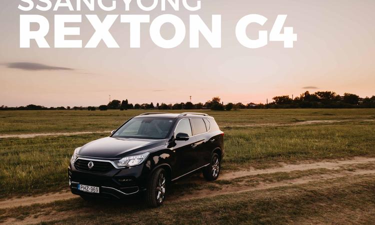 Ssangyong Rexton G4 Premium 4WD - Vegyél luxust olcsón