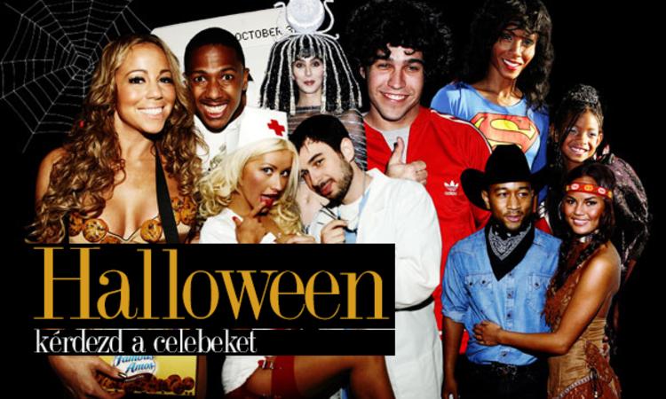 Halloween kosztüm ötlet? Kérdezd a celebeket!