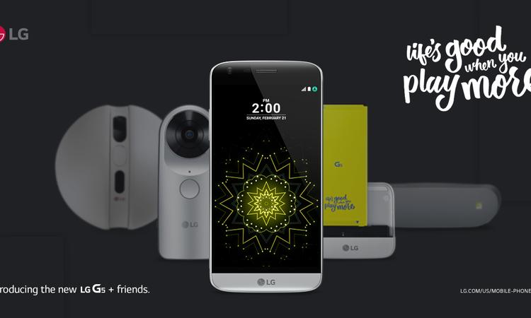 LG G5 - Vissza a jövőbe