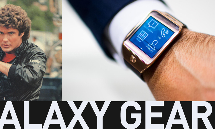 Samsung Galaxy Gear 2 - Michael Knight 2.0