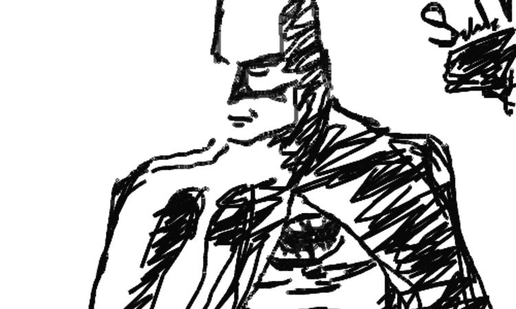 Rajzolj Batmant csukott szemmel