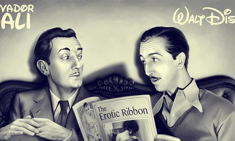Dalí és Disney barátsága