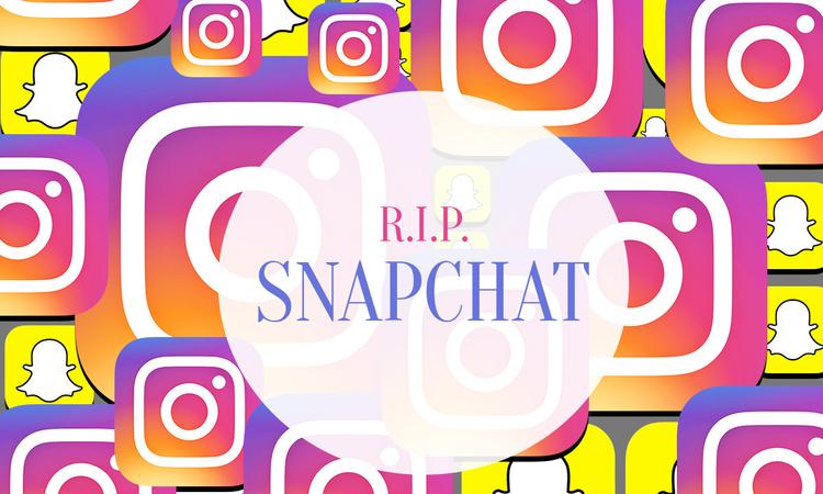 Az Instagram kinyírta a Snapchatet