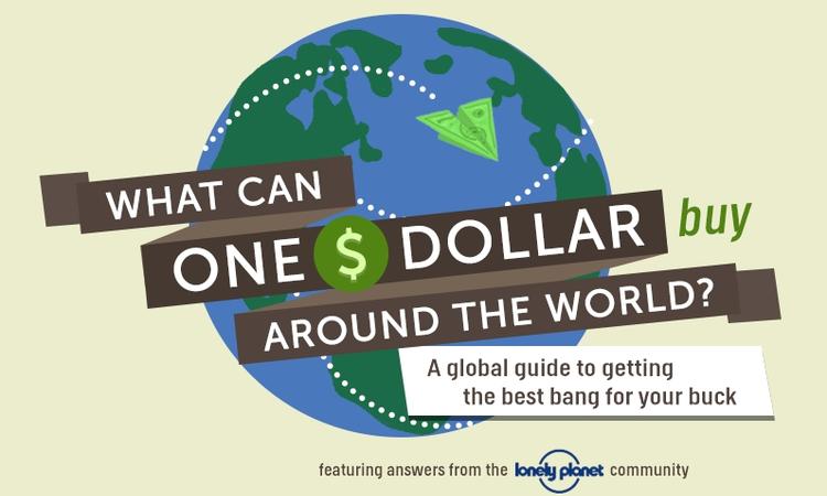 Mit tudsz venni egy dollárért a világ különböző részein? (Infografika)