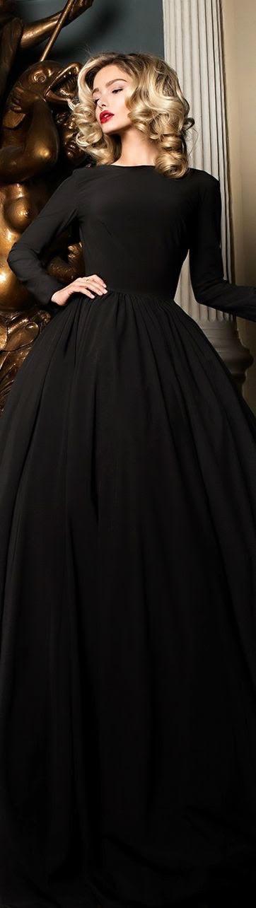 Fekete ruha : Pinterest