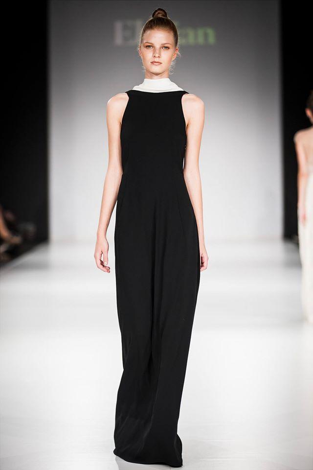 Fekete / fehér ruha :Elysian