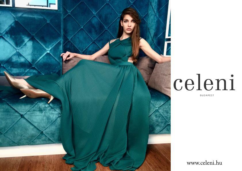 Zöld ruha : Celeni
