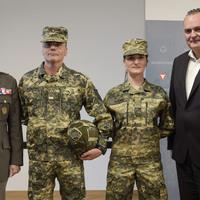 Az osztrák hadsereg új ruházata