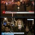 Nem találta a tüntetést az MTV