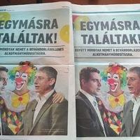 Hazug plakáttal, a CÖF lábával hajtja tovább a menekültrollert a Fidesz