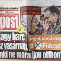 Durván belemenős interjút adott Orbán egy álhíreket terjesztő oldalnak