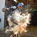 Látványos törióra a lefejezett embertől a tüzes szovjet sündisznóig
