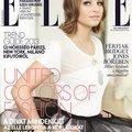 Kerekesszékes modell az Elle címlapján