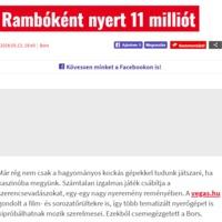 Andy Vajna a saját napilapjában cikknek álcázott hirdetéssel tolja a kaszinóját