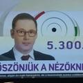 Diadal: 5,3 millió nézőről mesél az MTVA sajtóközleménye