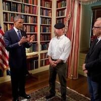 Obama a Mythbustersbe megy haknizni