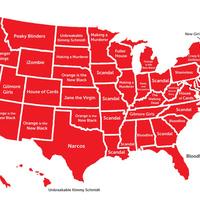 Itt van az USA sorozattérképe